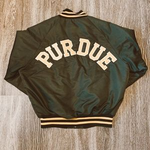 Vintage Purdue University Letterman Jacket